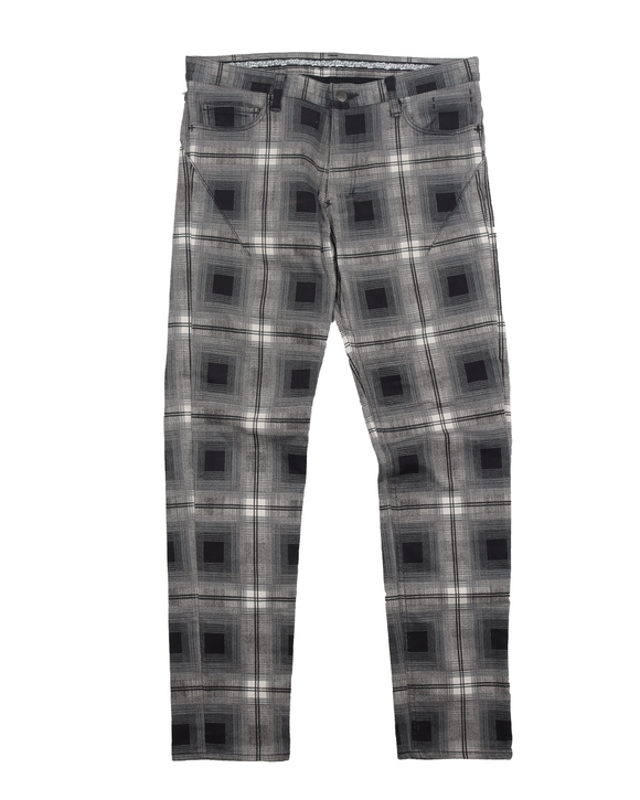 Checkerboard Denim Pant (AW07) Love God Murder