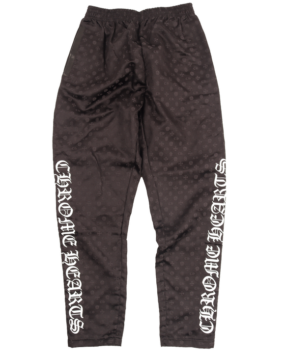 Silk Snap Button Track Pants