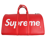 Supreme Keepall Bandouliere Epi 45 Red