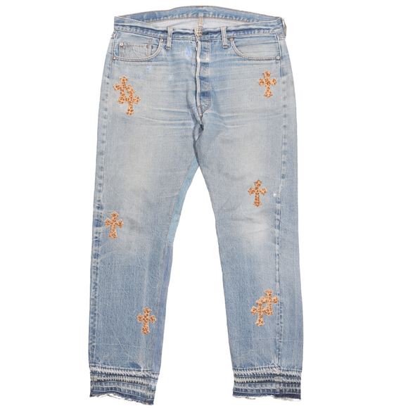 Levi's Cross Leaopard Patch Denim