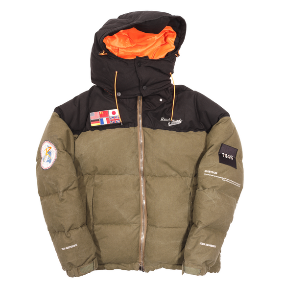 Flag Puffer Jacket w/ Tags