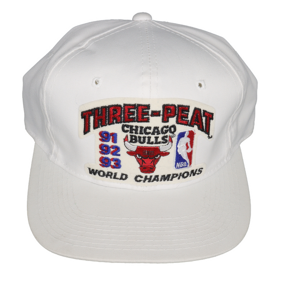 Chicago Bulls THREE PEAT Hat