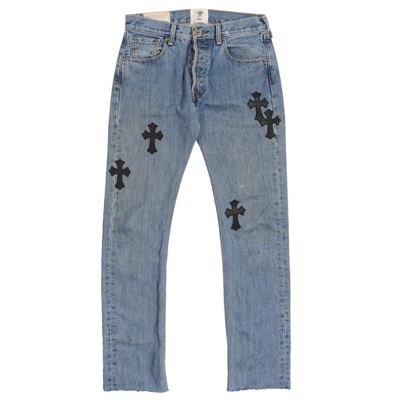 Gallery Dept. Levi's Cross Patch Denim