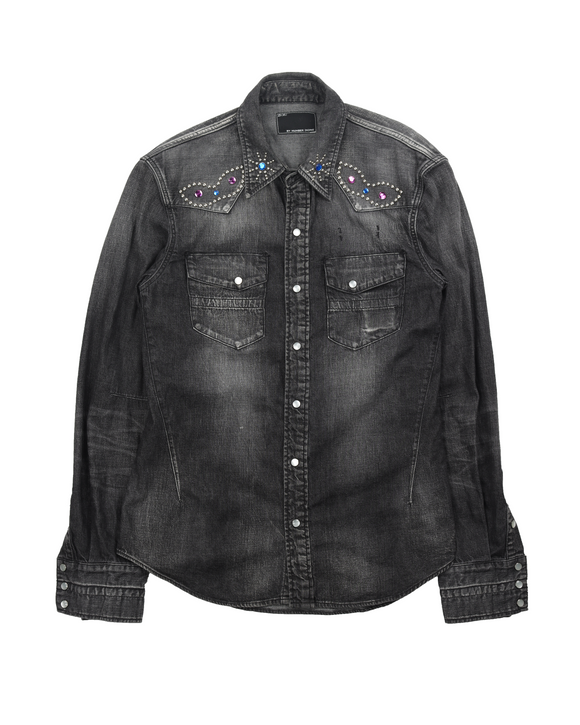 Embellished Denim Flannel Shirt (2003)