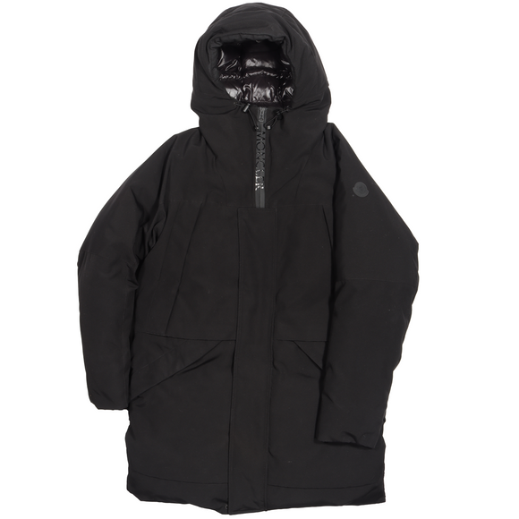 Black Long Down Puffer Coat