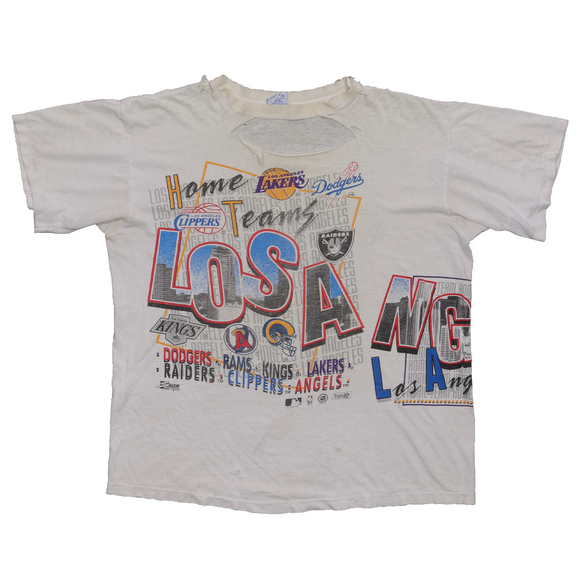 1990's Los Angeles Team Logo T-Shirt