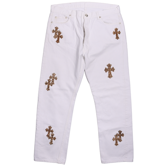 Levi's Leopard Cross Patch Denim