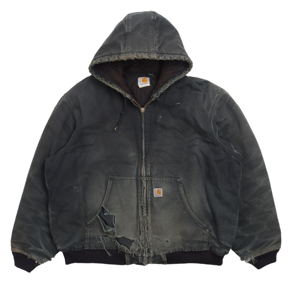 1990's Hooded Work Jacket