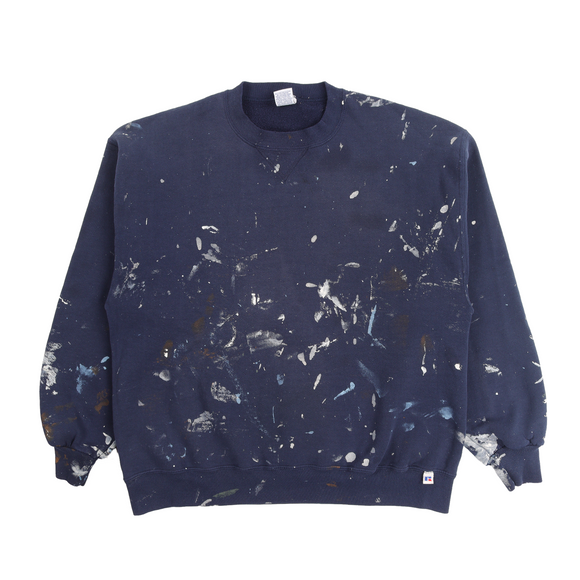 1990's Distressed Painter Crewneck Sweatshirt