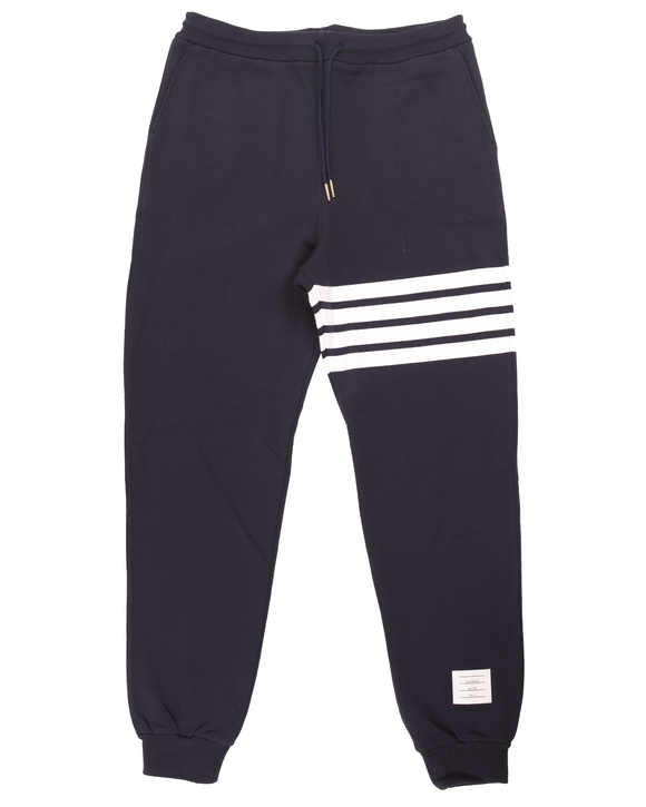Engineered Four Bar Sweatpant w/ Tags (Navy/White)