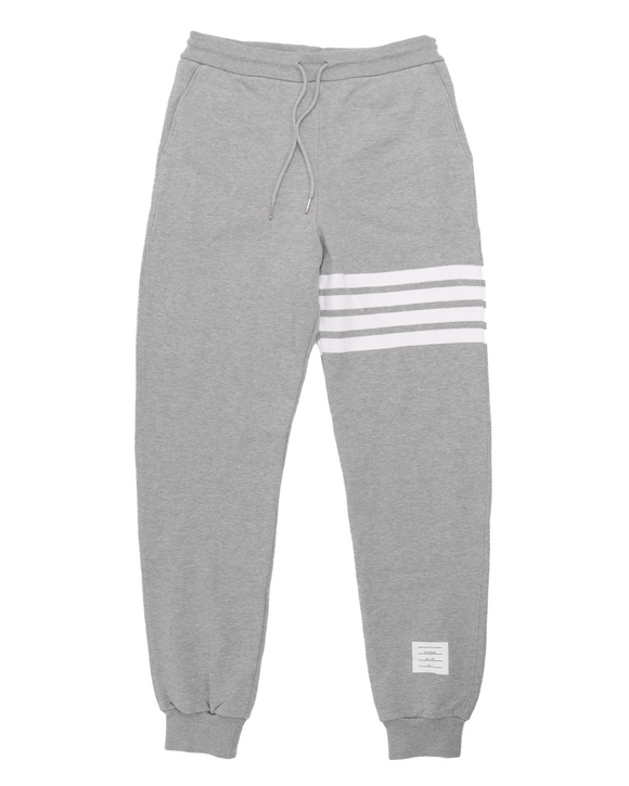 Engineered Four Bar Sweatpant w/ Tags (Grey/White)