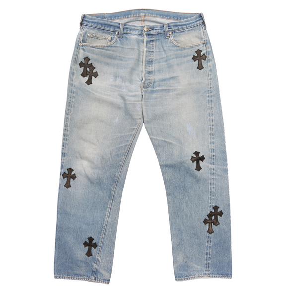 Levi's Patchwork Cross Denim