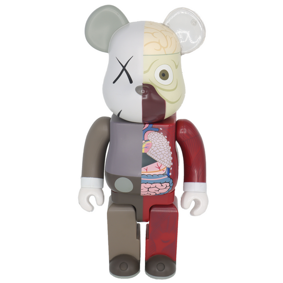 Dissected Bearbrick 400% Companion (Brown), 2010