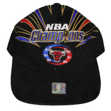 1998 Chicago Bulls NBA Champions Logo Hat
