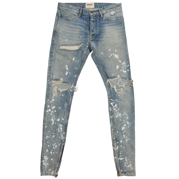 Purpose Tour Distressed Denim
