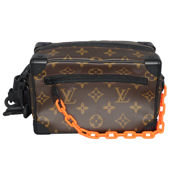 Mini Soft Trunk Monogram Brown/Orange