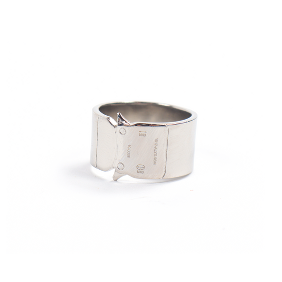Silver Buckle Ring w/ Tags