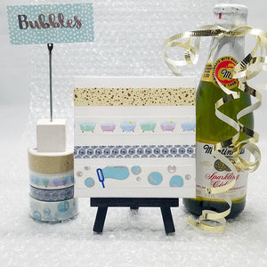 Bubbles Washi Tape Collection is Available Now!
