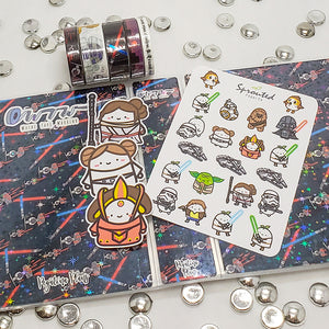 Fans of Star Wars will love this Washi Tape!