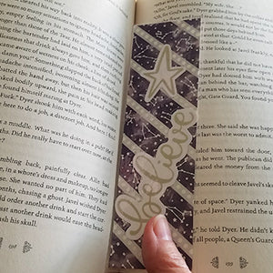 Washi Tape and Ephemera Bookmark Tutorial