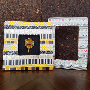 Create Your Own DIY Washi Tape Frames with the Tutorial