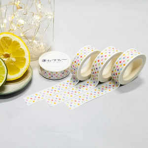 Does the Summer Polka Dot washi tape have variations?