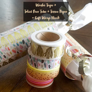 This Washi Tape Craft is Perfect for Giving Small Gifts