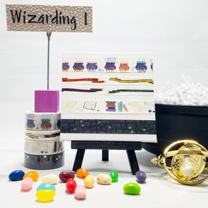 washitape for harry potter wizarding decorations