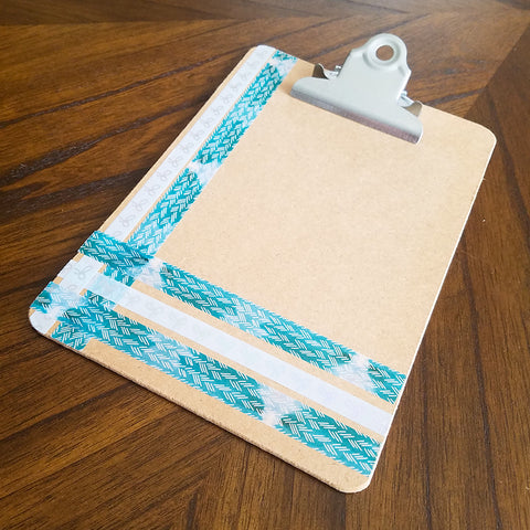Washi Tape Clipboard Picture Frame