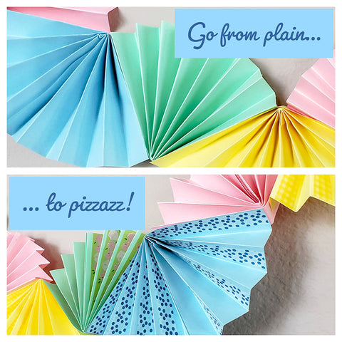 Plain to Pizzazz with Washi Tape!