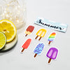 Summer Popsicle Sticker Set