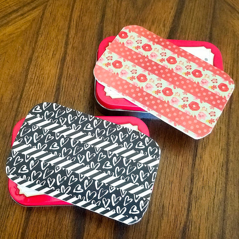 Decorating Altoids Tins With Washi Tape Washi Tape Warrior