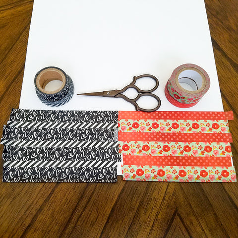 Laying Down the Washi Tape