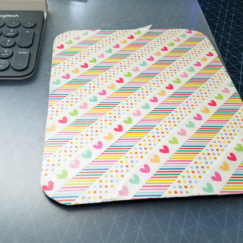 Facing the Failure of My Washi Tape Mousepad