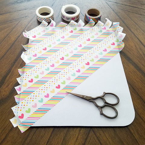 Mostly Covered Washi Tape Mousepad