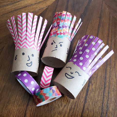 TP Roll Washi Tape Troll Buddies