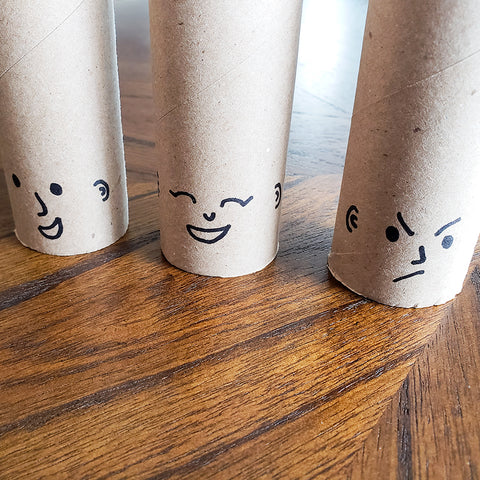 Faces for TP Roll Washi Tape Trolls