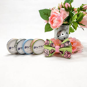 Floral Washi Set with Rose Bow