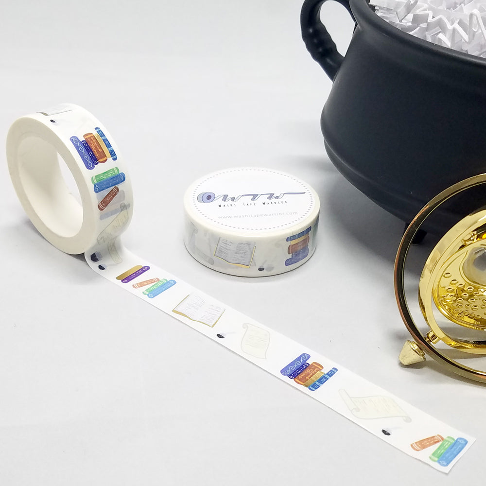 washi tape, study time supplies, for fans of Harry Potter at Hogwarts