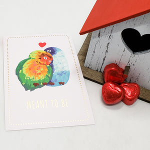 Love Birds Journal Cards