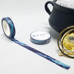 washi tape with magic, patronus, sparkle, swirl