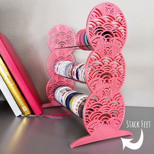 Magnetic Washi Display Stack Feet