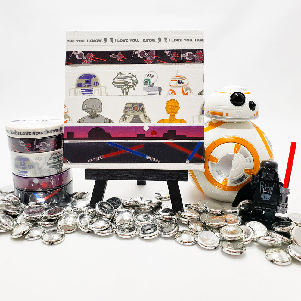 iconic Star Wars inspiration from the Galactic Battles collection from Washi Tape Warrior