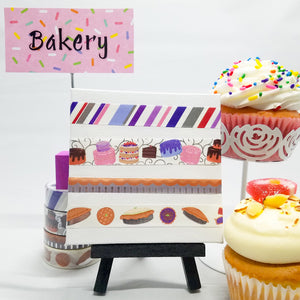 Bakery - Set, 4 Rolls