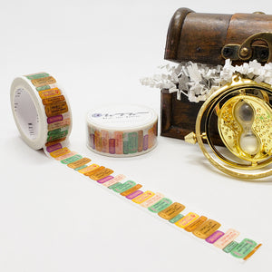 wizarding world washi tape, harry potter, school books, library books, great titles