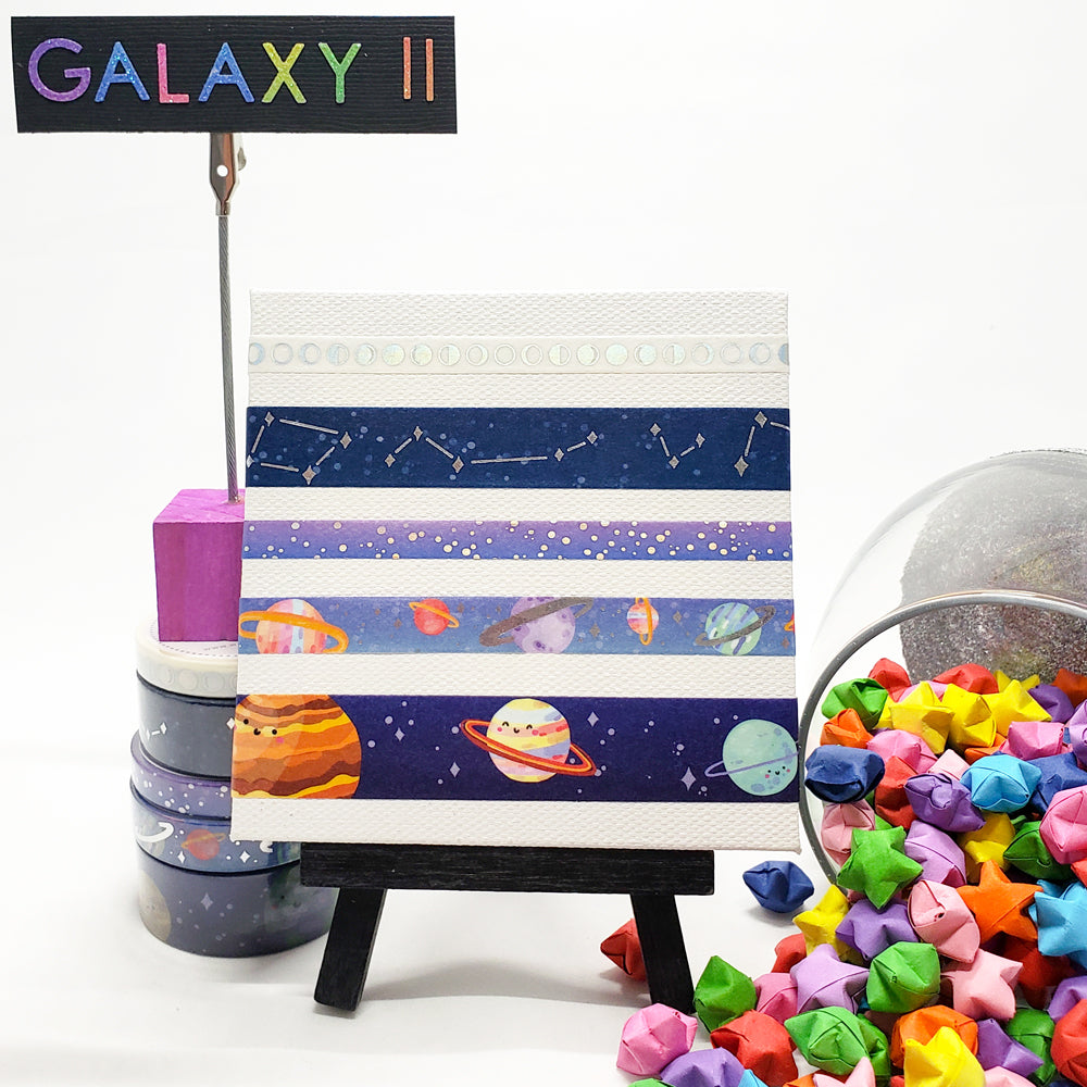 Galaxy II - Set, 5 rolls