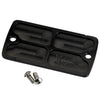 Pre-96 Front Master Cylinder Cover Finned Black