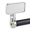 Rectangle Bar End Mirror Stem D