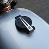 CB Flip Up Billet Gas Cap Black