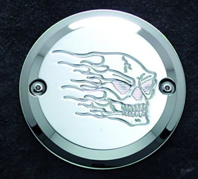2 Hole Point Cover Chrome Hothead